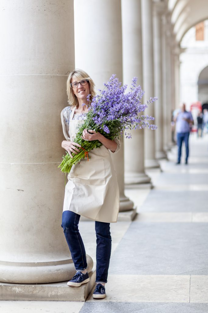 Emma Martin of Pitfield Barn cut flower farm and studio